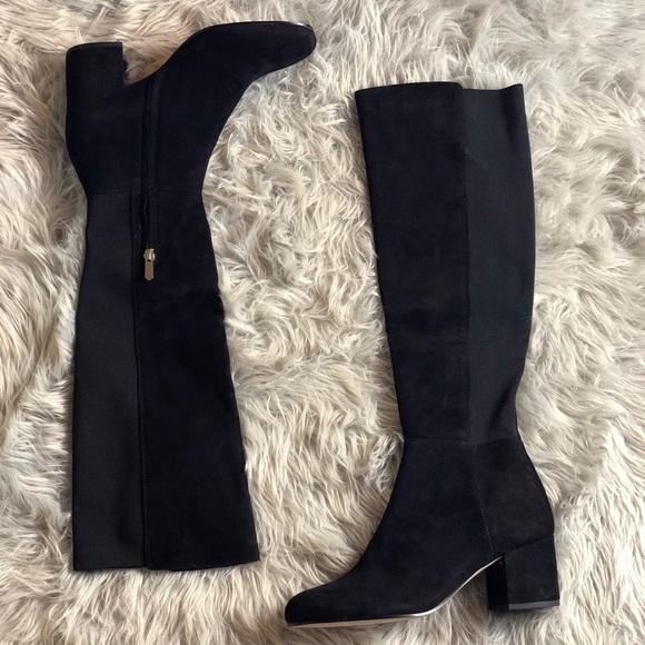 Sam Edelman Shoes - Black suede boots